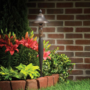 Olde Bronze 25-Inch One-Light Landscape Path Light