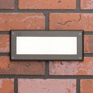15774AZT27R Landscape Textured Architectural Bronze 2700K LED Deck and Brick Light