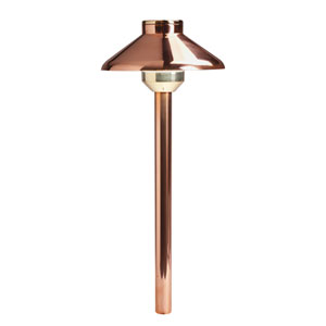 Copper 2700 Kelvin LED Landscape Path Light