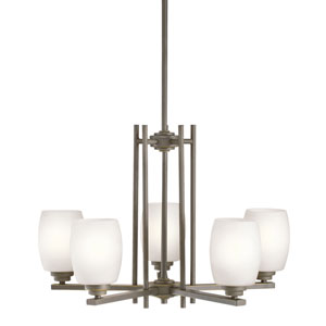Eileen Olde Bronze Five-Light Chandelier