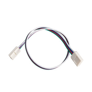 1IC12RGBWH White 12-Inch LED Tape RGB Interconnect