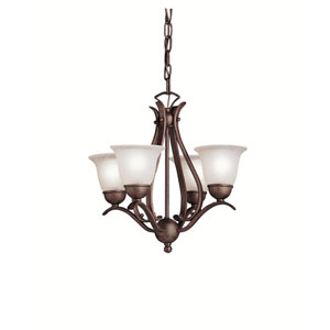 Dover Tannery Bronze Four-Light Chandelier
