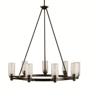Circolo Olde Bronze Nine-Light Chandelier