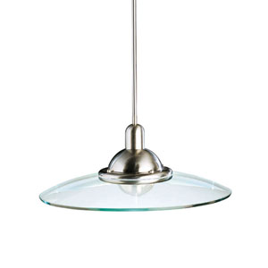 Contempo Nickel Pendant- Large
