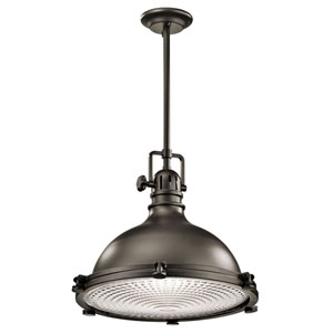 Hatteras Bay Olde Bronze 18-Inch One Light Pendant