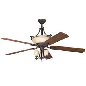 Olympia Olde Bronze 60-Inch Ceiling Fan