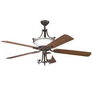 Olympia 60-Inch Olde Bronze Six-Light Ceiling Fan