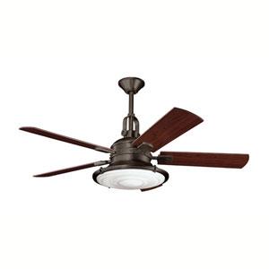 Kittery Point Olde Bronze Four-Light 52-Inch Ceiling Fan