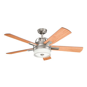 Lacey II Antique Pewter 52-Inch LED Ceiling Fan