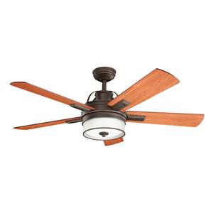 Lacey II Olde Bronze 52-Inch LED Ceiling Fan