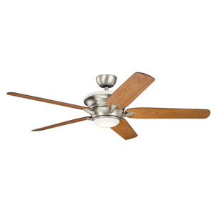 Pino Brushed Nickel 60-Inch LED Ceiling Fan