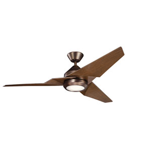 Jade Oil Brushed Bronze 60-Inch Energy Star LED Ceiling Fan