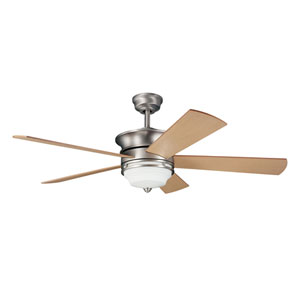 Hendrick Brushed Nickel 52-Inch Ceiling Fan