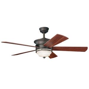 Hendrick Olde Bronze 52-Inch Ceiling Fan