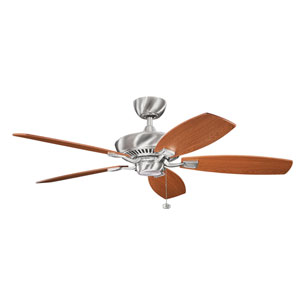 Canfield Energy Star Brushed Stainless Steel 52-Inch Ceiling Fan