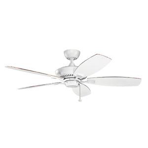 Canfield Matte White Ceiling Fan