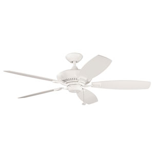 Canfield Energy Star Satin Natural White 52-Inch Ceiling Fan