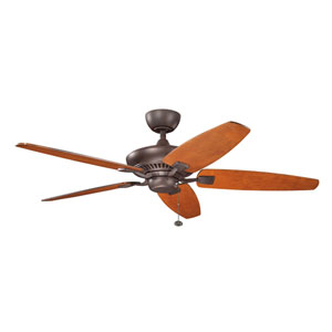 Canfield 52-Inch Tannery Bronze Ceiling Fan