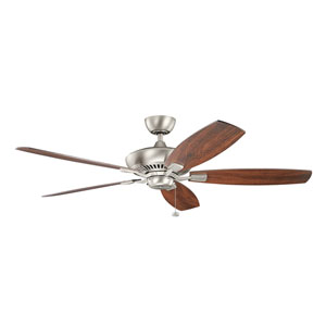 Tulle Brushed Nickel 60-Inch Fan