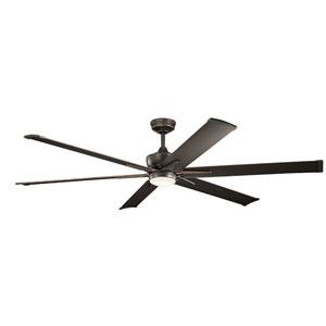 Szeplo Patio Olde Bronze 80-Inch Wet Location LED Ceiling Fan