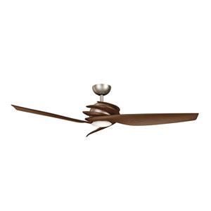 Spyra Antique Pewter 62-Inch Energy Star LED Ceiling Fan