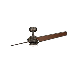 Xety Olde Bronze 56-Inch LED Ceiling Fan