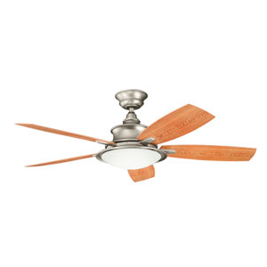 Cameron Brushed Nickel 52 Inch Ceiling Fan