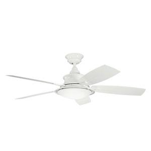 Cameron White 52 Inch Ceiling Fan