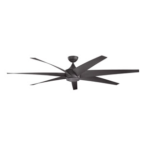 Lehr Distressed Black Indoor and Outdoor Ceiling Fan