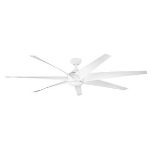 Lehr White Indoor and Outdoor Ceiling Fan
