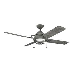 Maor Weathered Zinc 65-Inch Fan