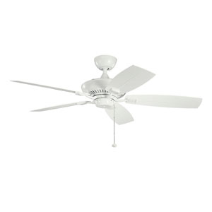 Canfield White 52 Inch Patio Ceiling Fan