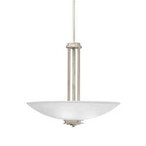 Hendrik Brushed Nickel Bowl Pendant