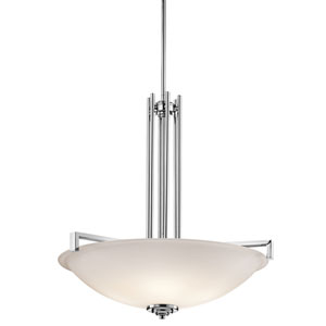 Eileen Chrome LED Four-Light Pendant