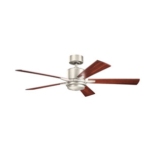 Lucian Brushed Nickel 52-Inch LED Ceiling Fan