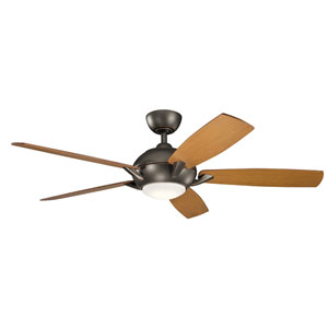Geno Olde Bronze 54-Inch LED Ceiling Fan