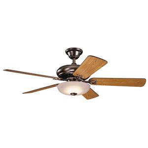 Bentzen Oil Brushed Bronze 52-Inch LED Ceiling Fan