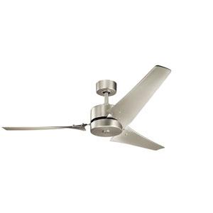 Motu Brushed Nickel 60-Inch Ceiling Fan