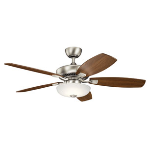 Canfield Pro Brushed Nickel 52-Inch LED Ceiling Fan