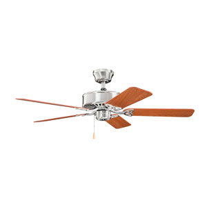 Renew Brushed Stainless Steel Ceiling Fan