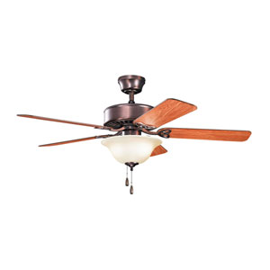 Renew Select ES Oil Brushed Bronze 50-Inch Two Light Ceiling Fan