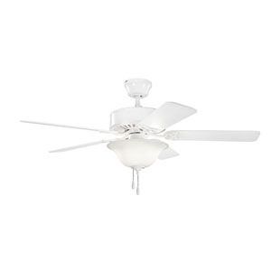 Renew Select ES White Two Light Ceiling Fan