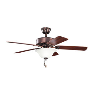 Renew Select Oil Brushed Bronze Three Light Ceiling Fan