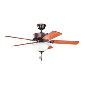 Renew Select Oil Brushed Bronze 50-inch Three Light Ceiling Fan