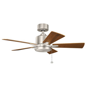 Bowen Brushed Nickel 42-Inch Ceiling Fan