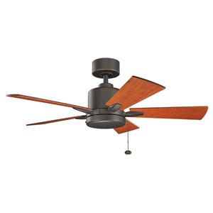 Bowen Olde Bronze 42-Inch Ceiling Fan
