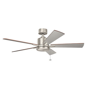 Bowen Brushed Nickel 52-Inch Ceiling Fan