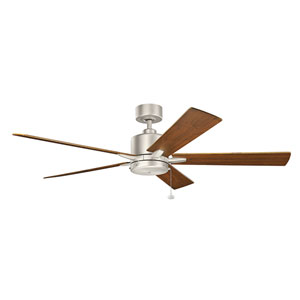 Bowen Brushed Nickel 60-Inch Ceiling Fan