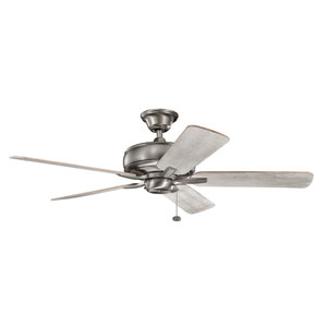 Terra Burnished Antique Pewter 52-Inch Ceiling Fan