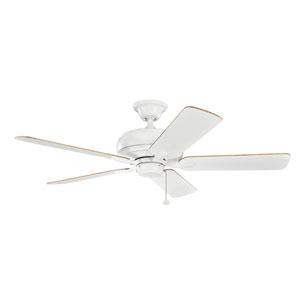 Terra Matte White 52-Inch Ceiling Fan